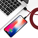 YEFOOT 5 Pack[3FT 3FT 6FT 6FT 10FT] iPhone Charger