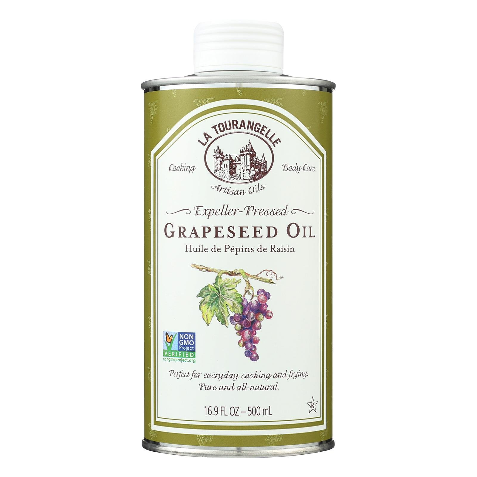 La Tourangelle Grapeseed Oil - Case of 6 - 16.9 Fl oz. by La Tourangelle