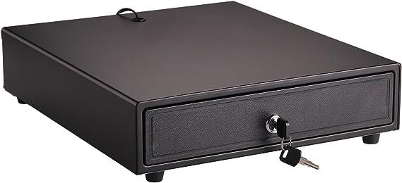 MorNon Caja Registradora TPV de Servicio Pesado Caja Registradora Papel Moneda y Cajón de Monedas Impresora de Recibos Caja Registradora Moneda Caja Registradora: Amazon.es: Hogar
