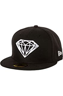 f92f466a61efc7 Amazon.com: Diamond Supply Co. Rock Logo Snapback Hat Cap-Green/Red ...