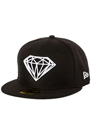 e96501c8aa550 Amazon.com  Diamond Supply Co. Men s Brilliant Fitted Hat 7 3 8 ...