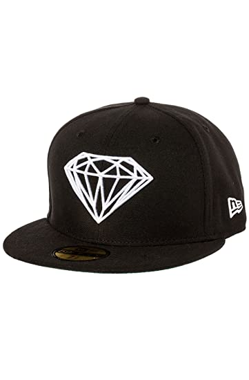 Amazon.com  Diamond Supply Co. Men s Brilliant Fitted Hat 7 3 8 ... 4a1dc4a75dd1