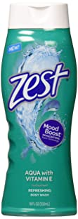ZEST BODYWASH AQUA 18 OZ (Pack of 6)