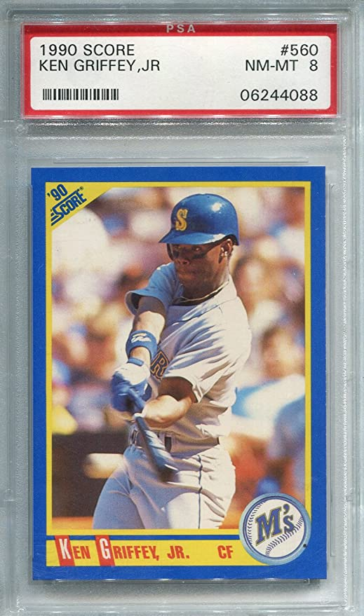 cf6b808b25 Image Unavailable. Image not available for. Color: Ken Griffey Jr. Unsigned  1990 Score Card (PSA)
