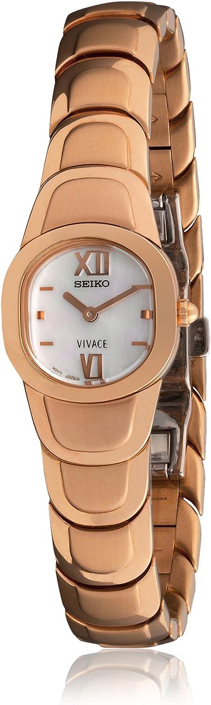 Seiko 70069 - Reloj de Señora Movimiento de Cuarzo con Brazalete metálico