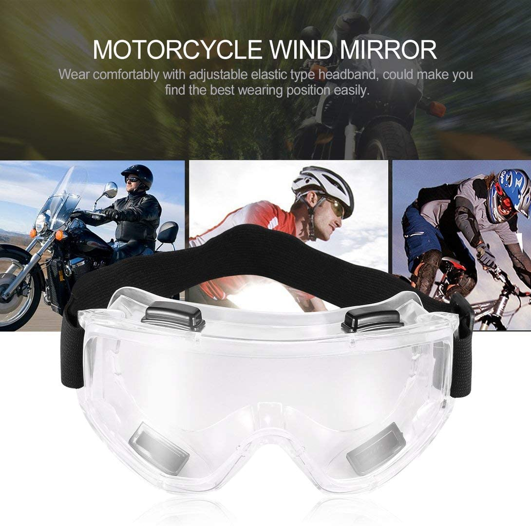 Swiftswan PC-Objektivbrille Schutzbrille Schutz Augenmaske staubdicht Winddicht zerschlagen Sicherheit Schutzbrille