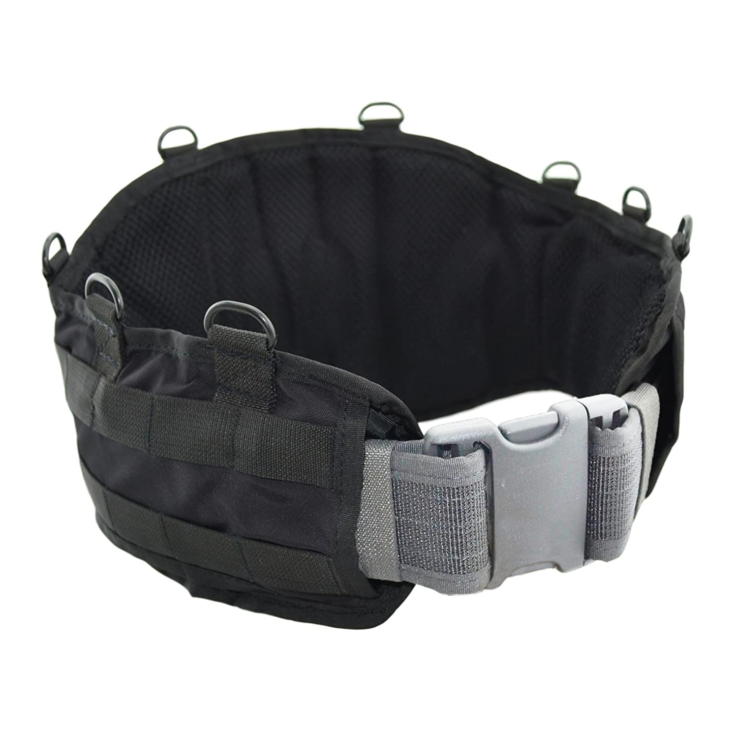 Amazon.com   Tactical Molle Belt Base with Fastening for Loin Platform by  SPOSN SSO (Black)   Sports   Outdoors b7df1394b4d