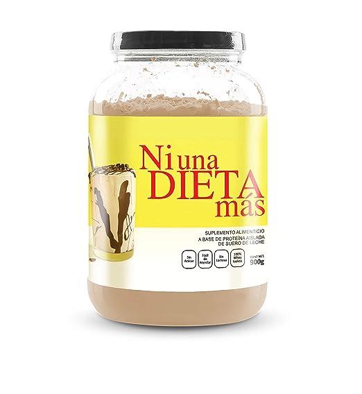 NI UNA DIETA MÁS - proteína whey isolate (delicioso chocolate) 0 azúcar, 0