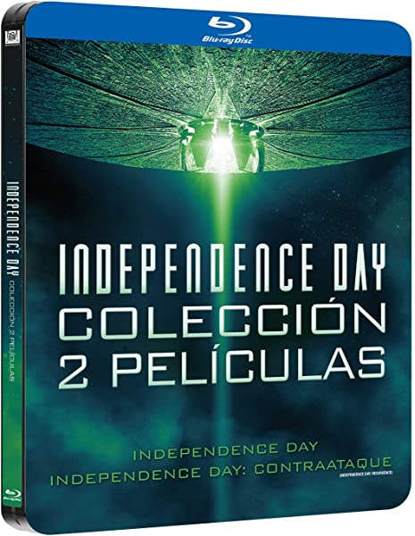 Pack Independence Day 1+2 Black Metal Edition Blu-Ray Blu-ray ...