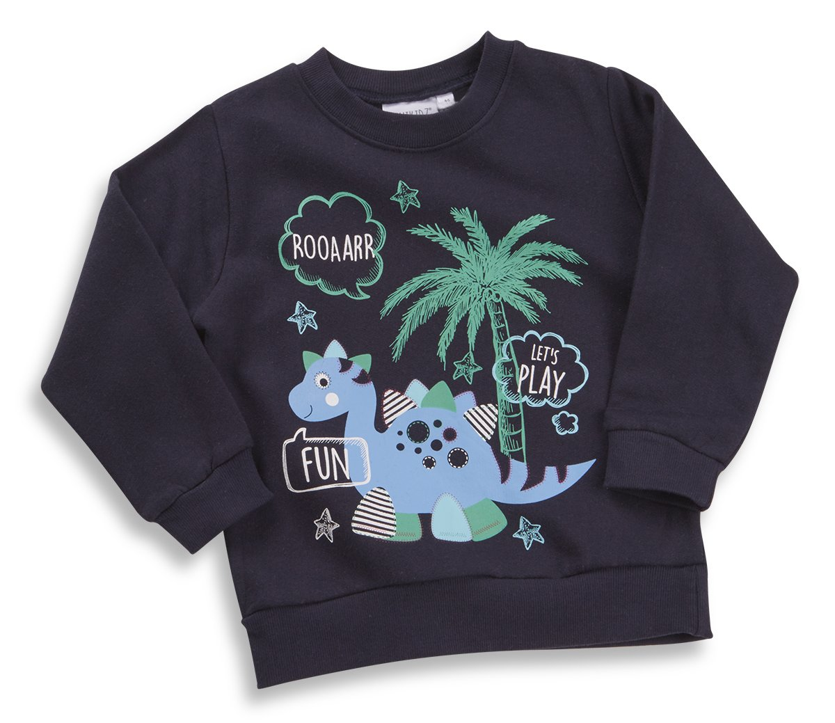 MINIKIDZ Infant Boys Sweaters (Sizes 2-6 Years) Long Sleeve Novelty Print Tops