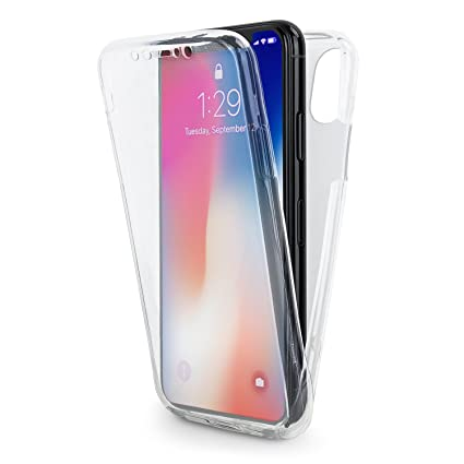 Amazon.com: Olixar iPhone Xs Max Full Cover Case/Full Body ...