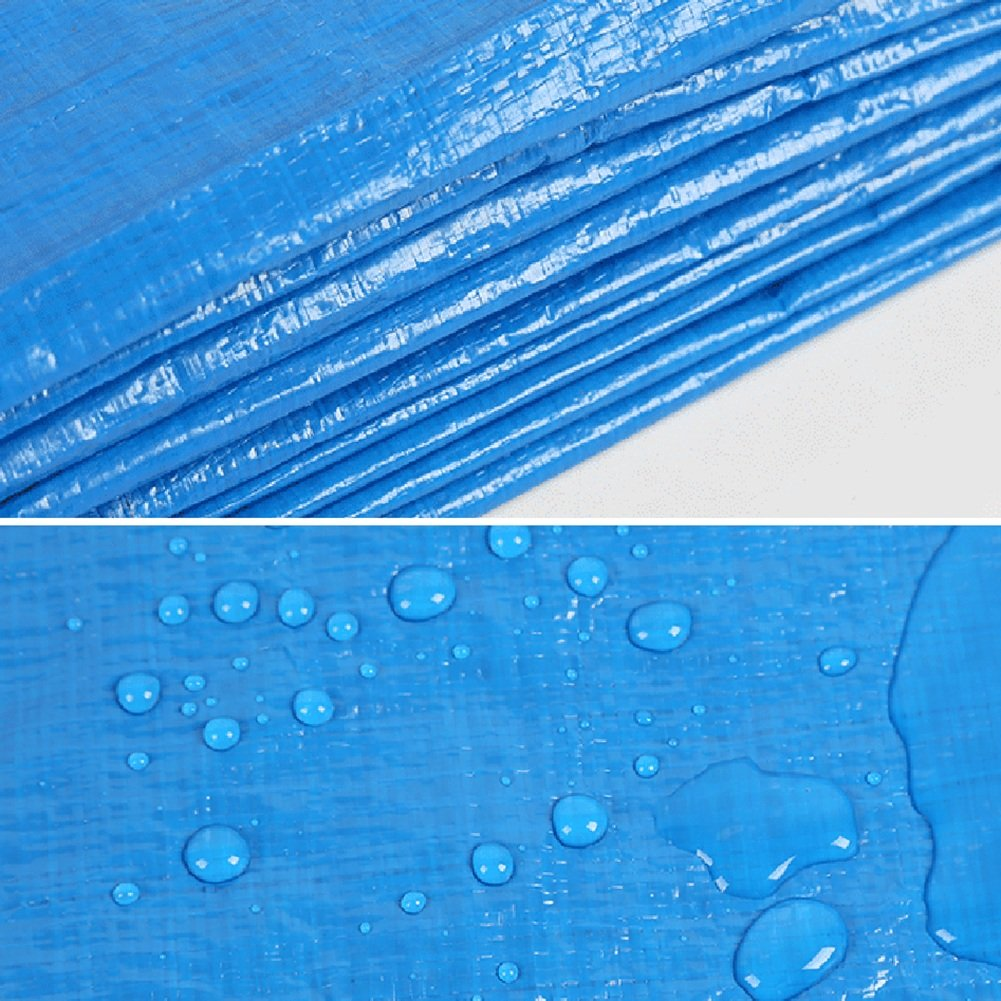 MDBLYJWinddichtes und kaltes Tuch Sonnenschutztuc LKW-Plane des LKW-Planes LKW-Sonnenschutz im im im Freien staubdichte windundurchlässige Hochtemperatur Anti-Altern, Blau  Orange B07MW22RSF Zeltplanen Extreme Geschwindigkeitslogistik 24cc1d