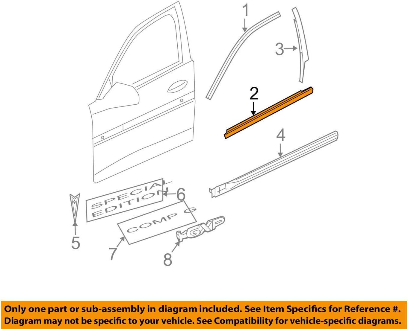 Molding 15919458 General Motors
