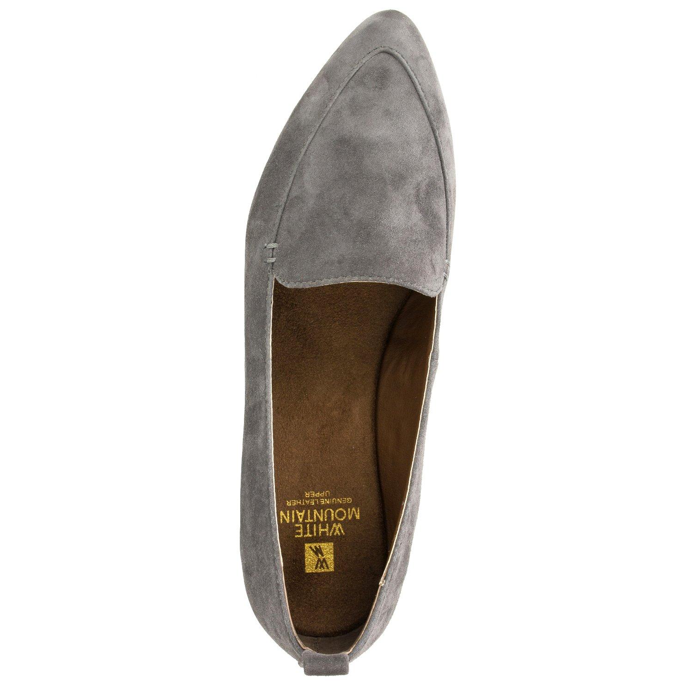 WHITE MOUNTAIN NASH' Women's Moccasin B0753FC112 9.5 B(M) US|Grey