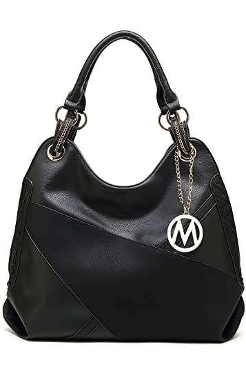 Amazon.com  Handbags for Women Jayla Large Designer Ladies Hobo bag Bucket  Purse Top Handle Faux Leather by Mia K Farrow  Shoes f05f26cf6580f