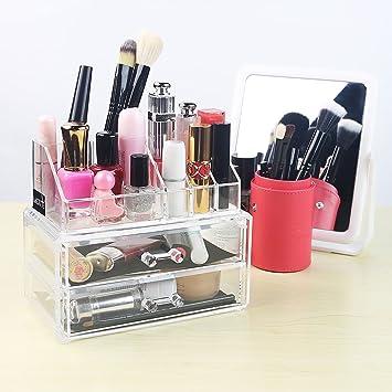 Amazoncom Lagute Acrylic Jewelry Cosmetic Storage Organizer Beauty