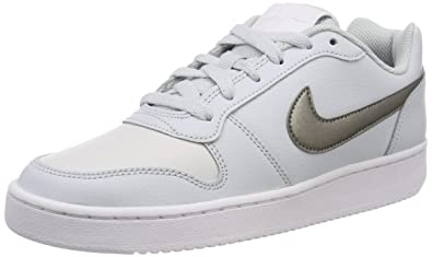 huge selection of 698f4 2d285 Nike Damen WMNS Ebernon Low Fitnessschuhe, Mehrfarbig (Pure MTLC  Pewter/Platinum Tint 003
