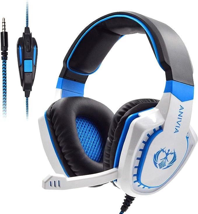Gaming Headphone Microphone USB LED