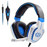 Anivia AH28 All-Platform Stereo Headphones Gaming Headset with Mic Compatible with PC Computers, Playstation PS4 Xbox…