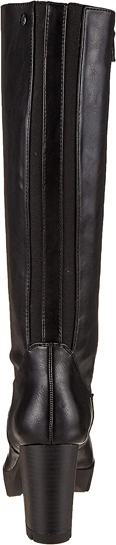s.Oliver dames 5-5-25608-23 hoge laarzen Black Black 001