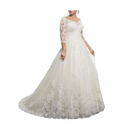 Beauty Bridal V-Neck Off Shoulder Mermaid Wedding Dresses For Bride Lace Applique Bridal Gowns