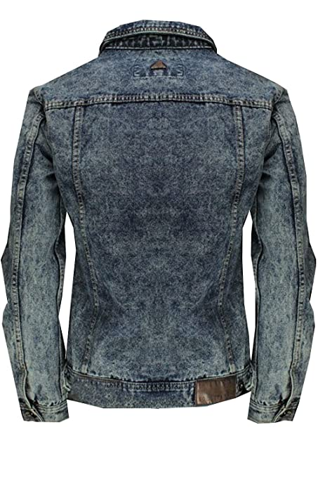 Amazon.com: SoulStar Denim chaquetas de estilo 3 Hudson ...