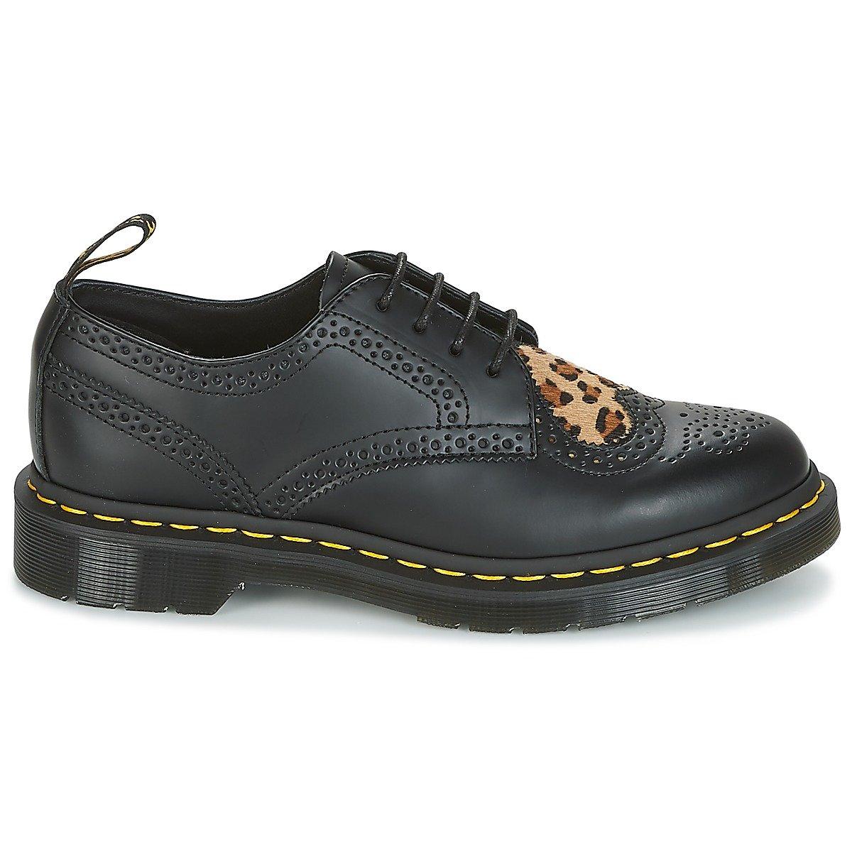 e537d6431007 Dr. Martens Joyce HRT - Black Medium Leopard: Amazon.co.uk: Shoes & Bags