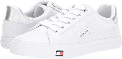 Amazon tommy hilfiger womens lustery whitesilver 10 m us shoes tommy hilfiger womens lustery whitesilver 10 publicscrutiny
