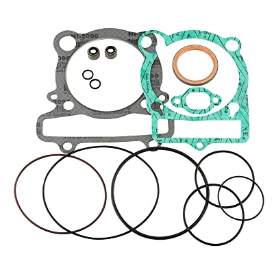 (Compatible With Yamaha) PREMIUM Top End Gasket Kit 1997-2013 350 Big Bear Bruin Raptor Wolverine Warrior With Valve Seals - See Chart For Exact Models & Years: Automotive