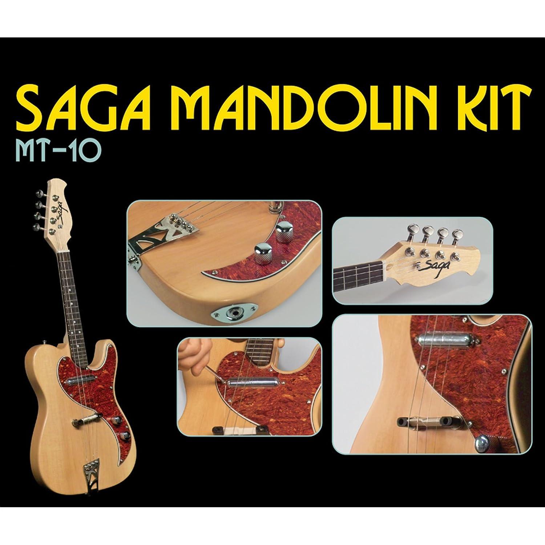 Amazon saga mt 10 electric mandolin kit musical instruments solutioingenieria Images