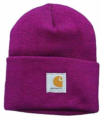 Carhartt Mujer Gorra Acrílico - Raspberry Sombrero Invierno Esquiar Mujeres CHWA018654-One Size: Amazon.es: Ropa y accesorios