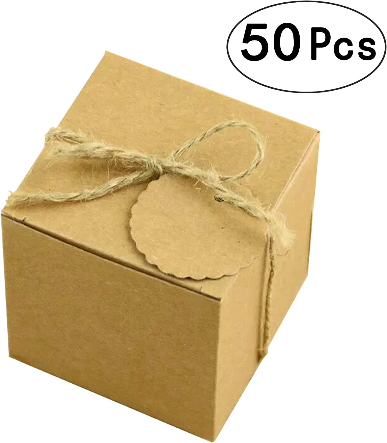 30 KRAFT BALLOON WEIGHT  BOX WEDDING FAVOURS GIFTS CAKE BIRTHDAY PARTY