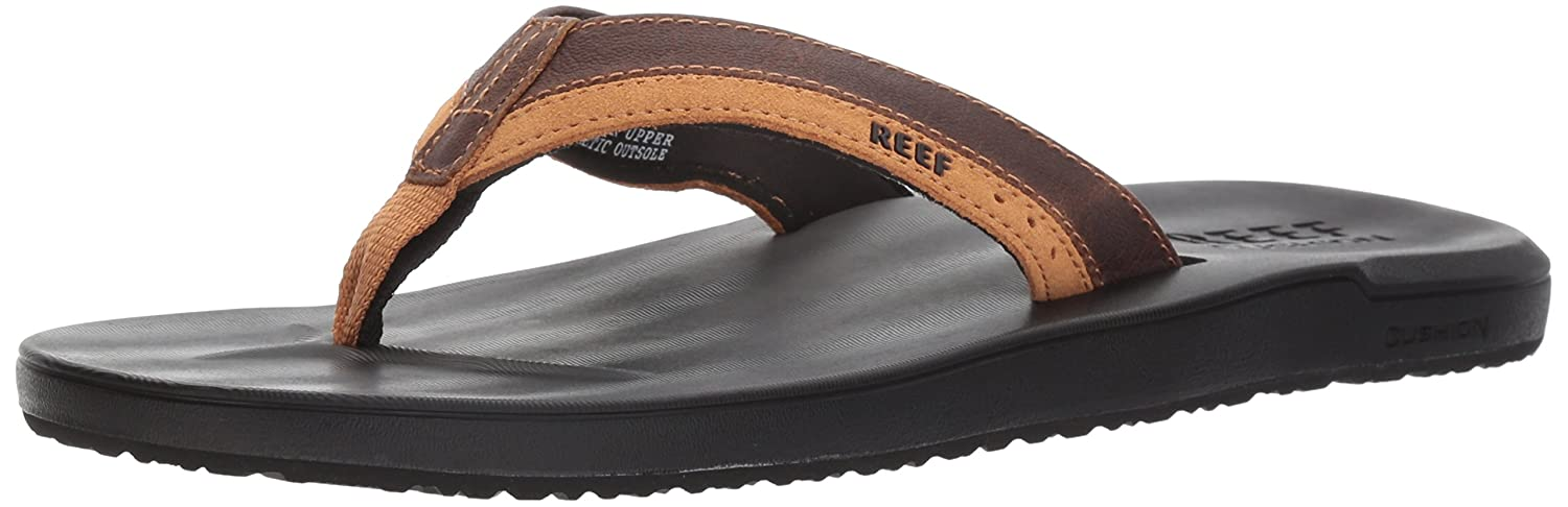 0ec09a58260e Amazon.com  Reef Men s Contour Cushion LE Sandal  Shoes