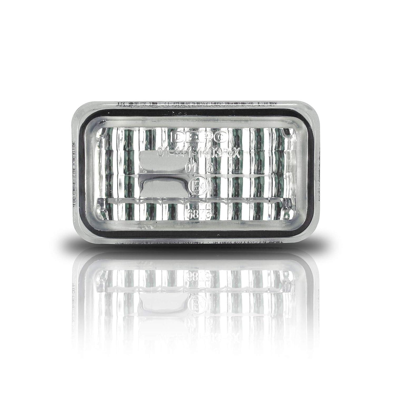 JOM 80296 Seitenblinker, kristall/chrom JOM Car Parts & Car Hifi GmbH