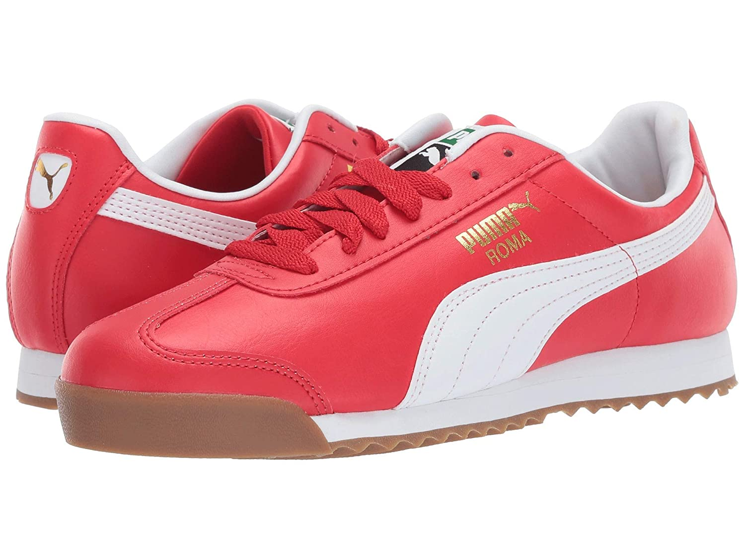 2019年秋冬新作 [プーマ] メンズランニングシューズスニーカー靴 Roma White Basic [並行輸入品] Red/Puma 25.5 B07N8DZVDK High Risk Red/Puma White 25.5 cm D 25.5 cm D|High Risk Red/Puma White, 天白区:79643773 --- a0267596.xsph.ru