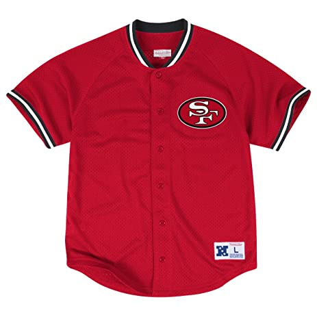 mitchell and ness 49ers jersey