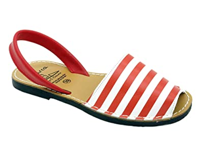 Avarca Made In Spain Damen Echtleder Sandalen mit