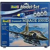 Revell - 64893 - Maquette D'aviation - Mirage 2000d - 74 Pièces - Echelle 1/72
