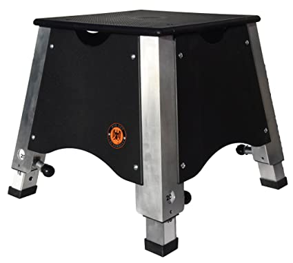 67f2cd0823f Image Unavailable. Image not available for. Color  Elev8 Adjustable  Plyometric Box