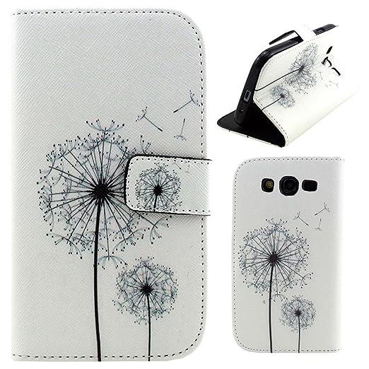 32 opinioni per HUANGTAOLI Custodia in pelle Flip Case Cover per Samsung I9060i Galaxy Grand Neo
