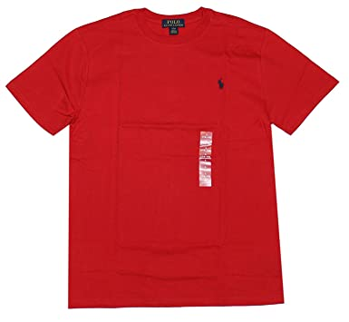 06181bd20 Amazon.com  Ralph Lauren Little Boys Polo Crewneck Tee Solid  Clothing