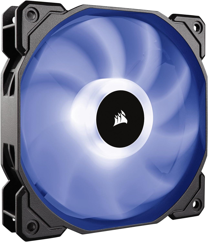 Corsair SP120 RGB - Ventilador de PC (120 mm, iluminación LED RGB), Paquete Individual con Controlador de iluminación