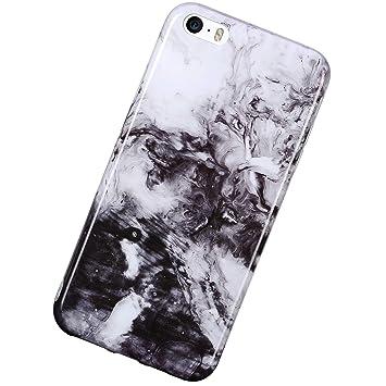Urhause Funda Compatible con iPhone 5S/SE,Carcasa Mármol ...