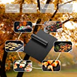 LauKingdom Grill Mat Set of 5 - 100% Non-Stick BBQ