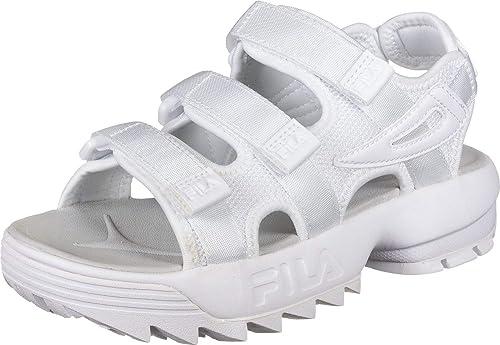 Fila Womens Disruptor Sandals White