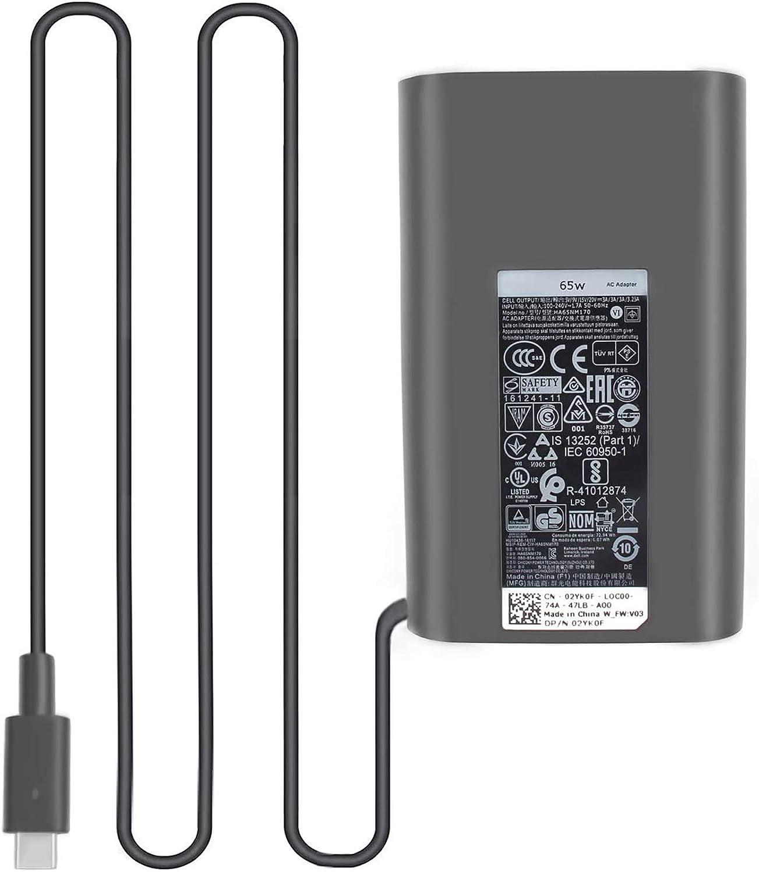 JUYOON 65W 45W USB-C Charger for Dell inspiron 13 7306 LA65NM170 DA65NM170 HA65NM170 DA65NM190 LA65NM190 LA45NM150 AA45NM150 DA45NM170 HA45NM170 LA45NM171 DA45NM180 HA45NM180