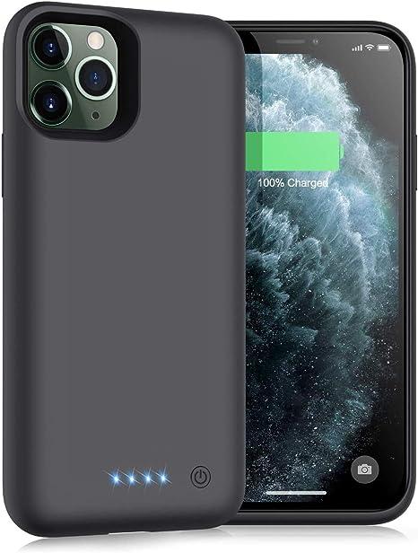 iPosible Cover Batteria per iPhone 11 PRO, 6800mAh Cover Ricaricabile Custodia Batteria Cover Caricabatteria Battery Case per iPhone 11 PRO [5.8''] ...