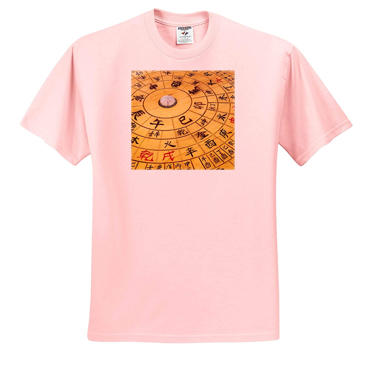Characters on Chinese Calendar Decor 3dRose Danita Delimont - Adult T-Shirt XL ts/_314548