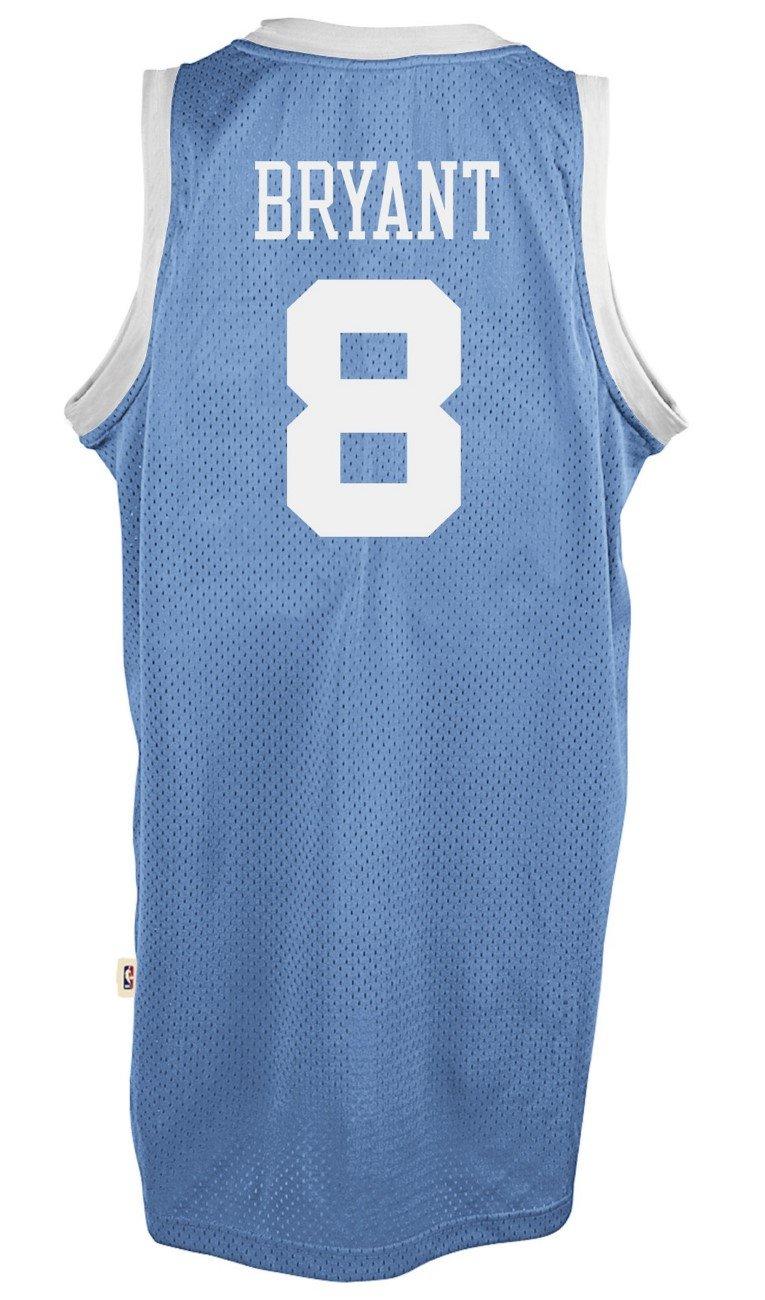 91deb569c4e Amazon.com : adidas Kobe Bryant Los Angeles Lakers Light Blue Throwback  Swingman Jersey : Clothing