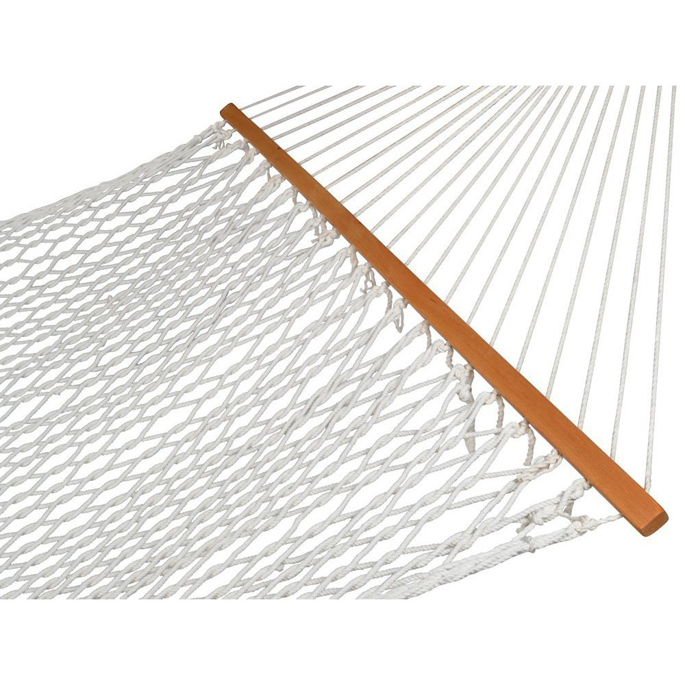 "Zeny 59"" Cotton Rope Double Hammock With Spreader Bars by Zeny"